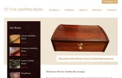 Fine Jewellery Boxes Screenshot
